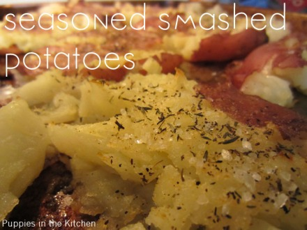 Seasoned Smashed Potatoes